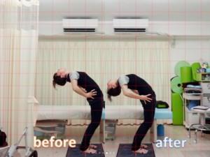 元々身体の柔軟性が有る方でしたが、ここまで改善してます!